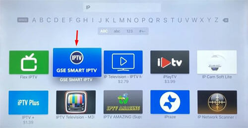 IPTV sur Apple TV