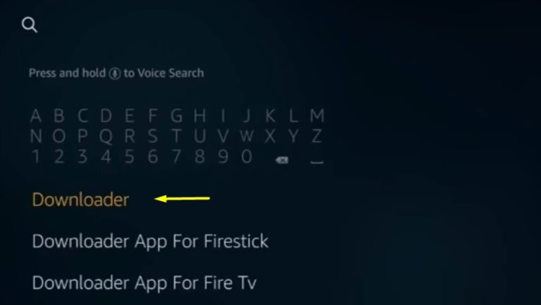 Set TV sur Firestick