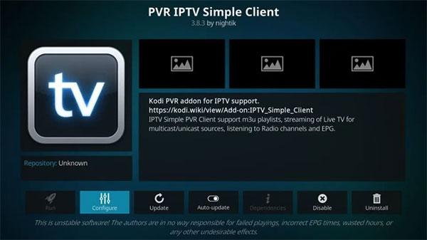 diffuser IPTV sur Kodi
